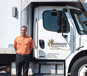 Chris Barringer of Barringer Moving and Storage