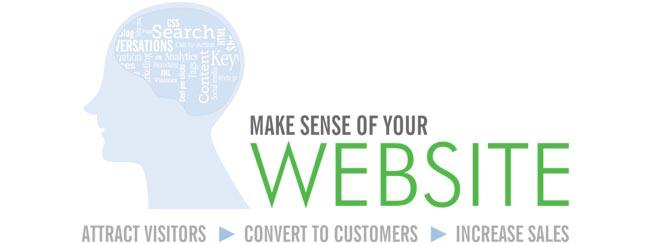 Make sense of your website