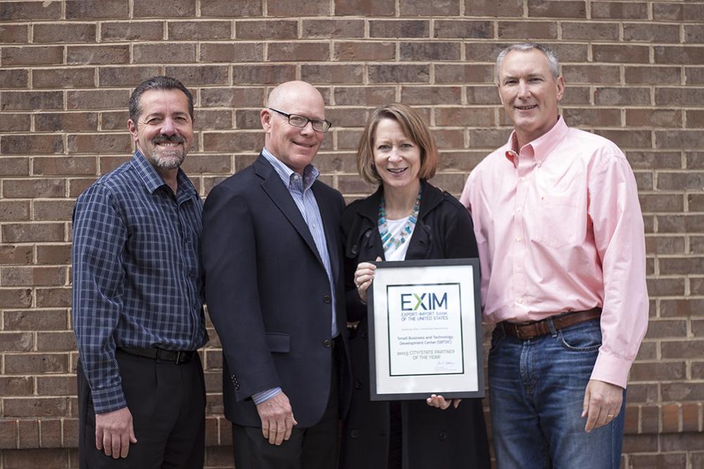 SBTDC receives EX-IM award