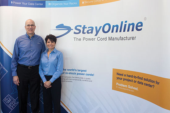 Jim and Bellinda Higgins of Stay Online