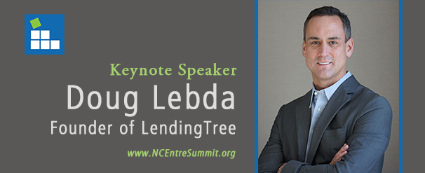 photo of 2013 NC Entrepreneurship Summit keynote speaker Doug Lebda of LendingTree