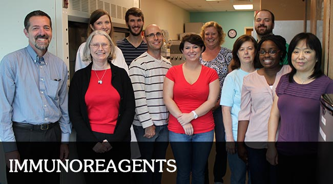 image of the ImmunoReagents team